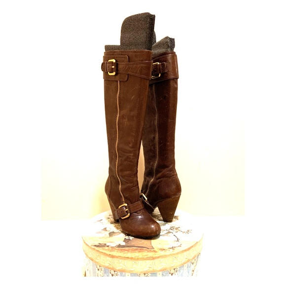 Tall Brown Vince Camuto Boots Size 7